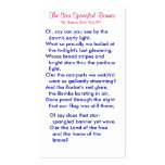 The Star Spangled Banner (1) Business Card Templates