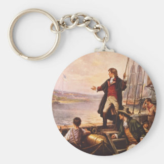 The Star Spangled Banner by Percy Moran Keychain