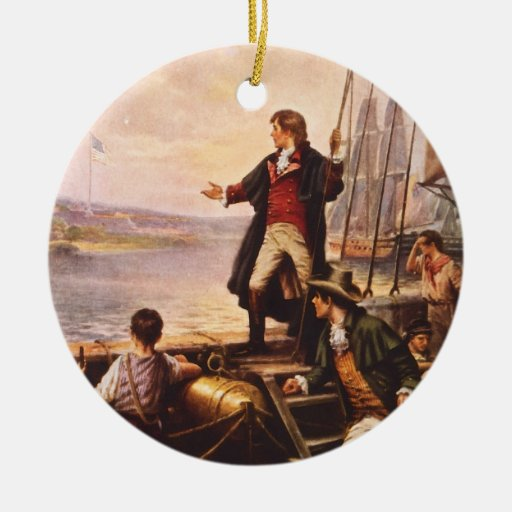 The Star Spangled Banner by Percy Moran Christmas Tree Ornaments