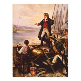The Star Spangled Banner by Percy Moran Post Cards
