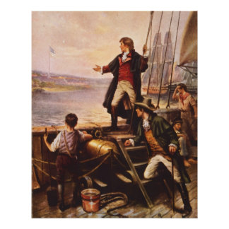 The Star Spangled Banner by Percy Moran Poster