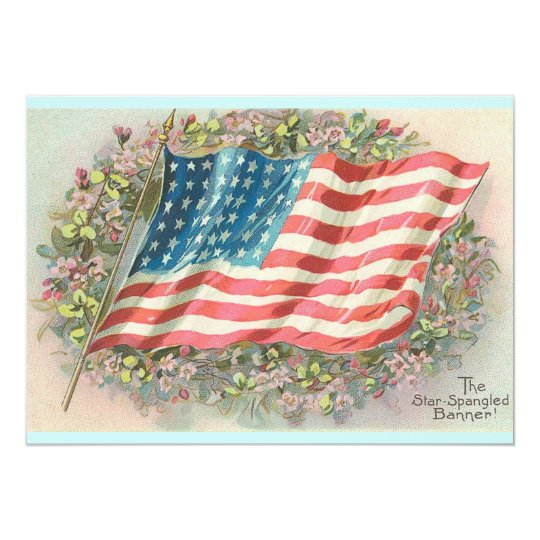 The Star Spangled Banner Card