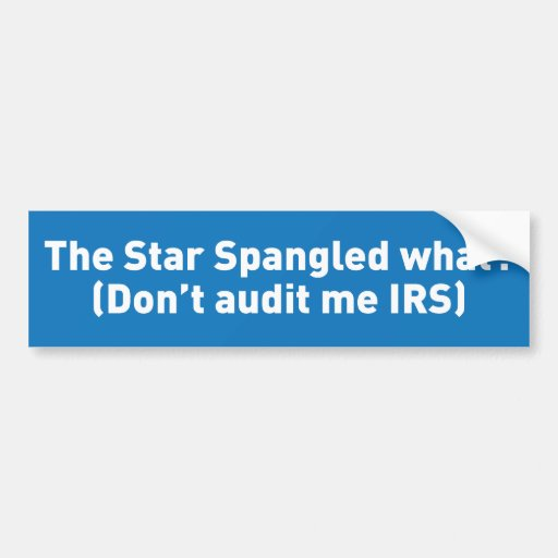 The Star Spangled what? Bumper Stickers