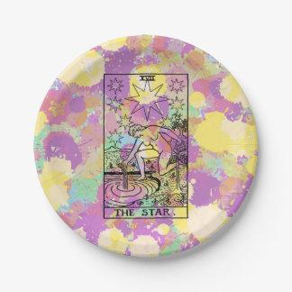 The Star Tarot Card Paper Plate