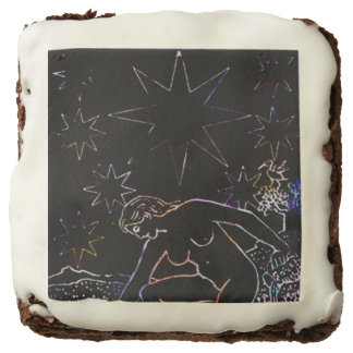 The Star Tarot Party Black Chocolate Brownie