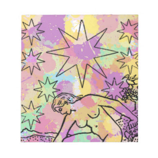 The Star Tarot Party Note Pad