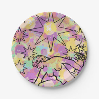 The Star Tarot Party 7 Inch Paper Plate