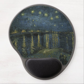 The star the night when it falls gel mousepads