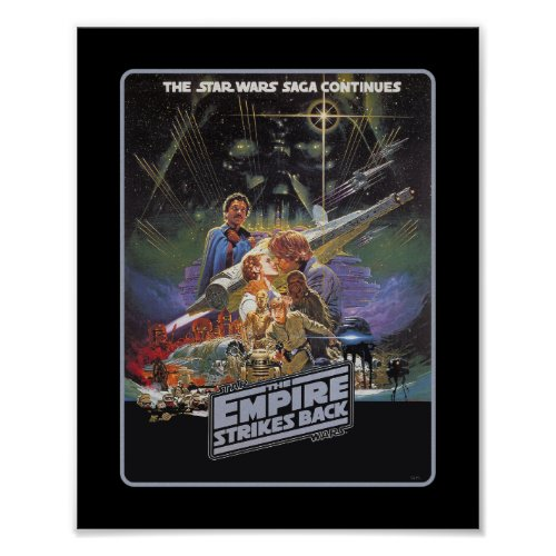 The Star Wars Saga Continues Poster