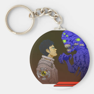 The Stare Off Key Chains