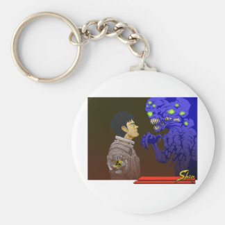 The Stare Off Keychain