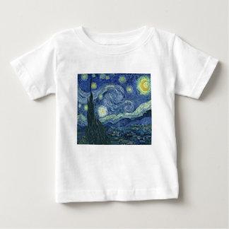 The Starlight night of Van Gogh (The Starry Night) Baby T-Shirt