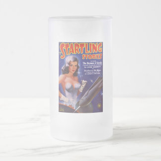 The Starmen of Llyrdis Frosted Glass Beer Mug