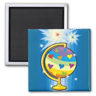 The Starry Globe - Magnet