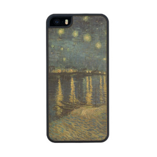 The Starry Night 1888 2 Carved® Maple iPhone 5 Case
