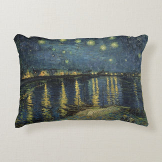 The Starry Night, 1888 2 Accent Pillow