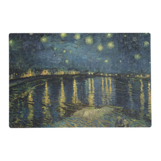 The Starry Night, 1888 2 Laminated Placemat