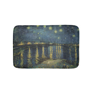 The Starry Night, 1888 Bathroom Mat