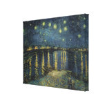The Starry Night, 1888 Canvas Print