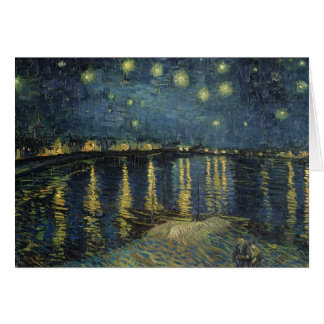 The Starry Night, 1888 Card