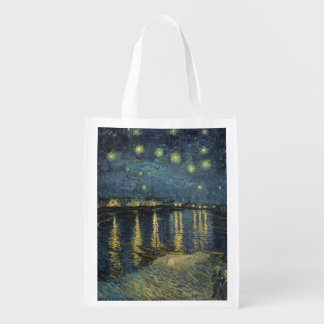 The Starry Night, 1888 Grocery Bag