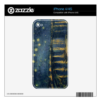 The Starry Night, 1888 Skin For iPhone 4S
