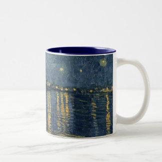 The Starry Night, 1888 Two-Tone Coffee Mug