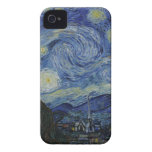 The Starry Night, 1889 by Vincent van Gogh iPhone 4 Case