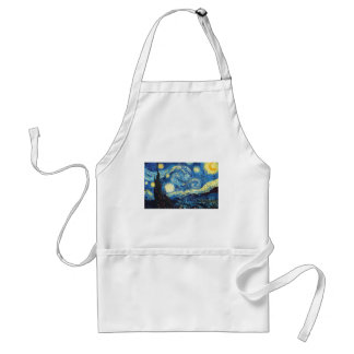 The Starry Night Adult Apron