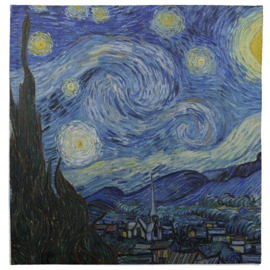 The Starry Night American MoJo Napkin