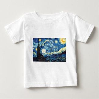 The Starry Night Baby T-Shirt
