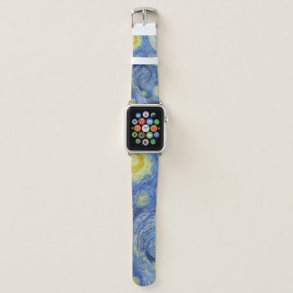 The Starry Night by Van Gogh Apple Watch Band
