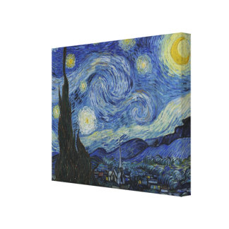The Starry Night by Van Gogh Canvas Print