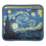 The Starry Night by Van Gogh iPad Sleeve