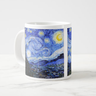 The Starry Night by Van Gogh Large Coffee Mug