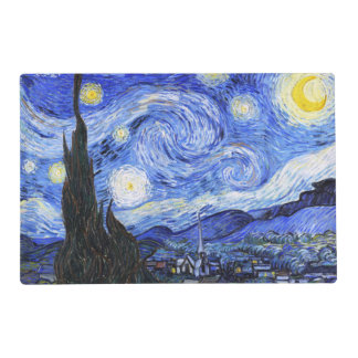 The Starry Night by Van Gogh Placemat