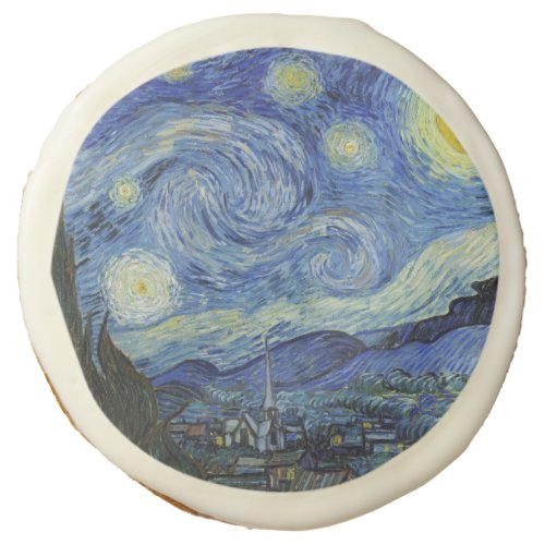 The Starry Night by Van Gogh Sugar Cookie