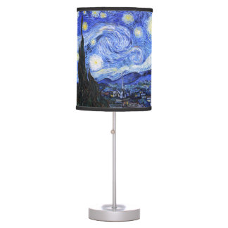 The Starry Night by Van Gogh Table Lamp