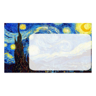 The Starry Night by Vincent van Gogh 1889 Business Card
