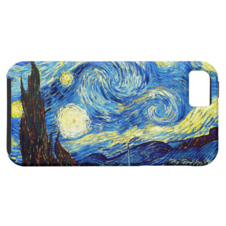The Starry Night by Vincent van Gogh 1889 iPhone SE/5/5s Case