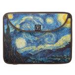 The Starry Night (De sterrennacht) - Van Gogh Sleeves For MacBooks