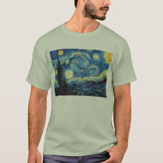 The Starry Night (De sterrennacht) - Van Gogh T-Shirt
