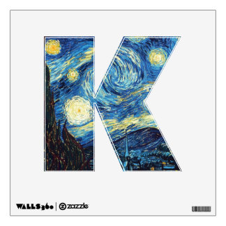 The Starry Night (De sterrennacht) - Van Gogh Wall Graphic