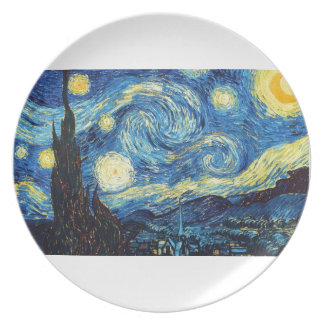 The Starry Night Dinner Plate