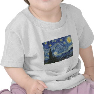 The Starry Night, June 1889 (oil on canvas) Tshirt
