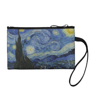 The Starry Night Key Coin Clutch Coin Purse
