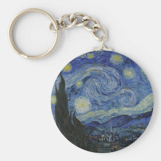 The Starry Night Keychain
