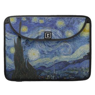 The Starry Night Macbook Pro Flap Sleeve Sleeve For MacBooks