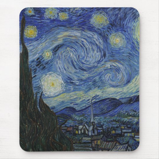 The Starry Night Mousepad