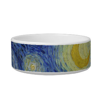 The Starry Night Pet Bowl